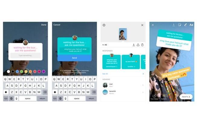 O adesivo para fazer perguntas no Stories do Instagram está disponível na versão 52 do app para iOS e Android