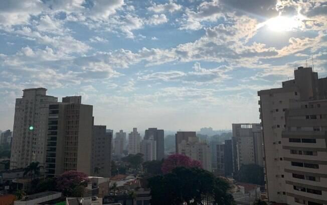 Domingo em Campinas será de tempo parcialmente nublado, diz Cepagri