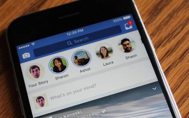 Facebook anuncia novas atualizações para tentar fazer decolar função Stories na rede social