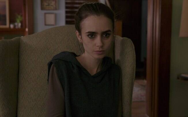 Lilly Collins, que viveu a personagem principal do filme