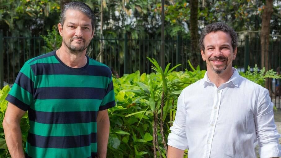 Marcelo Serrado e Ricardo Connti