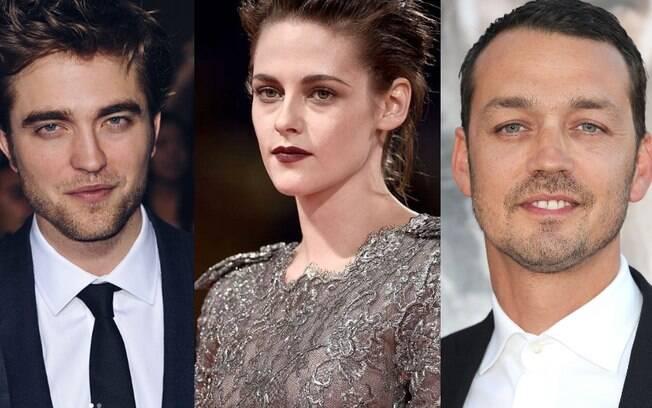 Kristen Stewart foi flagrada aos beijos com Ripert Sanders enquanto estava com Robert Pattinson