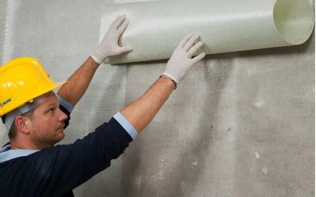 Tecido alemão produzido com fibra de vidro e polímeros consegue dissipar a energia dos abalos sísmicos