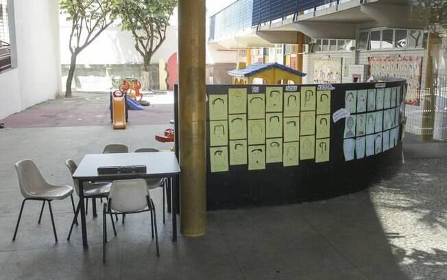 O pátio de uma escola pública no Andaraí: aulas na rede municipal devem recomeçar em agosto