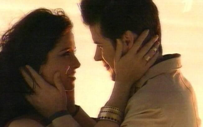 Giovanna Antonelli e Murilo Benício em