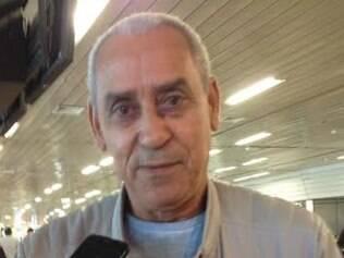 Seu Juarez chegou a Brasília cheio de confiança no fim do jejum do filho Fred