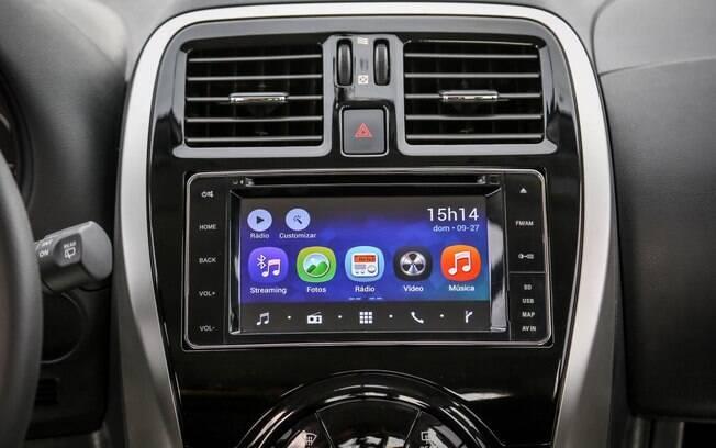 Central Multi App já vem com alguns aplicativos instalados e funciona como se fosse um tablet