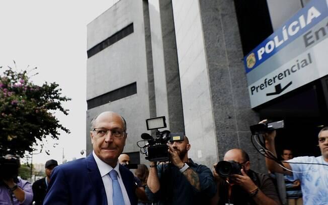 Geraldo Alckmin foi acusado pela PF de lavagem de dinheiro