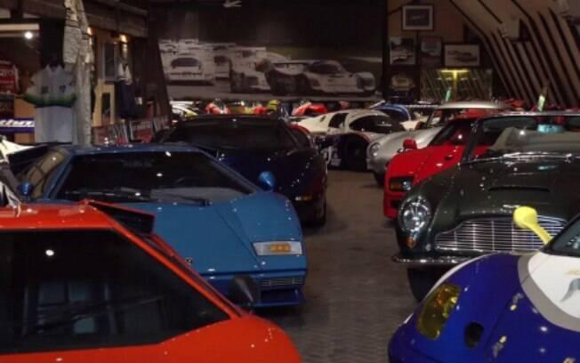 Raridades da coleção particular no Reino Unido conta com modelos de corrida e para rodar pelas ruas
