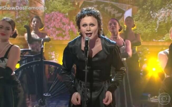 Silvero Pereira interpretou a canção Non Je Ne Regrette Rien, de Edith Piaf
