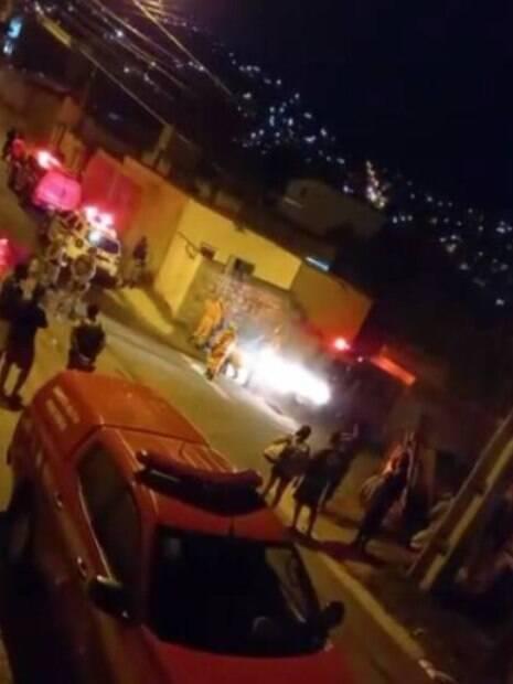 imagem da rua onde o crime ocorreu