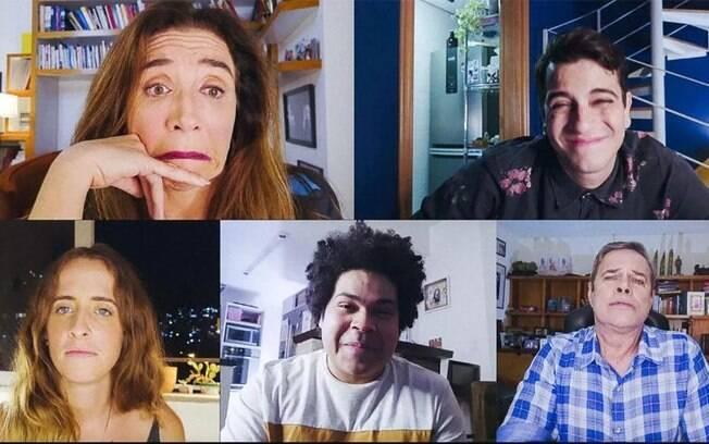 Marisa Orth, Diogo Vilela e outros atores no
