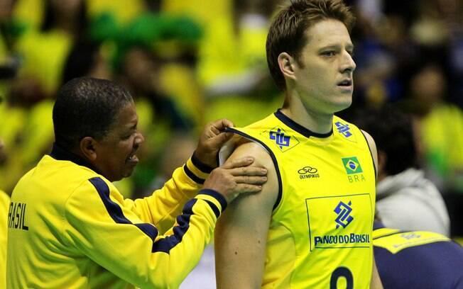Murilo sofreu nas últimas temporadas com  dores no ombro