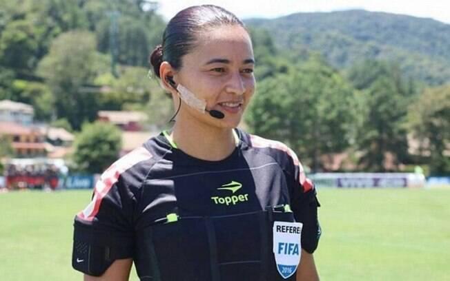 Edina Alves será árbitra de um jogo da Série A do Brasileirão