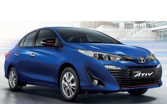 Toyota Yaris Tailandês terá vários itens em comum com a versão que está prestes a ser lançada no mercado brasileiro