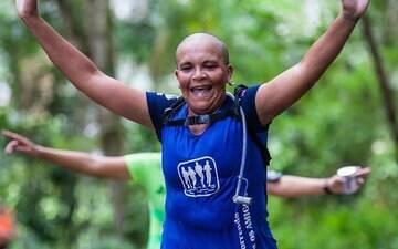 """""""Corrida é minha válvula de escape contra o câncer. Corro e volto forte"""""""