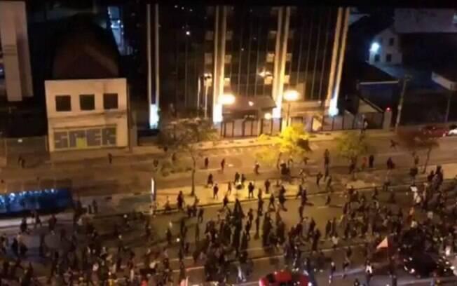 protesto curitiba