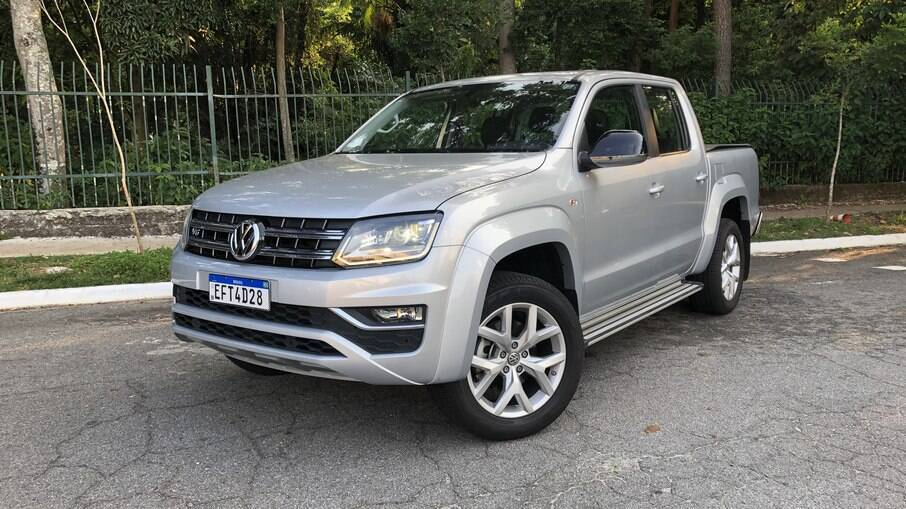 VW Amarok: visual quase não mudou desde o lançamento, há mais de uma década, mas ainda se mantém atual