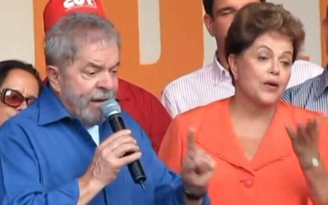Lula comparou a baixa popularidade de Dilma em 2015 com a do ex-presidente Fernando Henrique em 1999