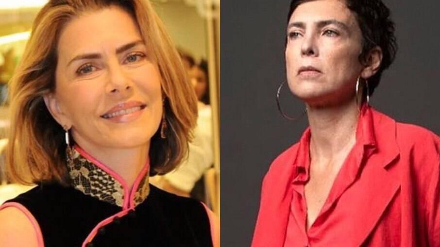 Maitê Proença falou sobre Adriana Calcanhoto