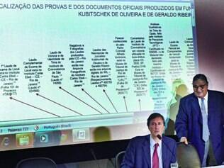 Relatório. Pedro Dallari e José Paulo Cavalcante Filho, da CNV ,divulgam o relatório parcial de pesquisa do caso Juscelino Kubitschek