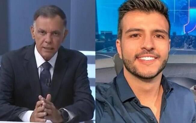 Luiz Carlos Braga foi trocado por Matheus Ribeiro na Record TV de Brasília