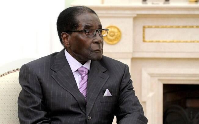 Mugabe foi um dos heróis do movimento de independência do Zimbábue