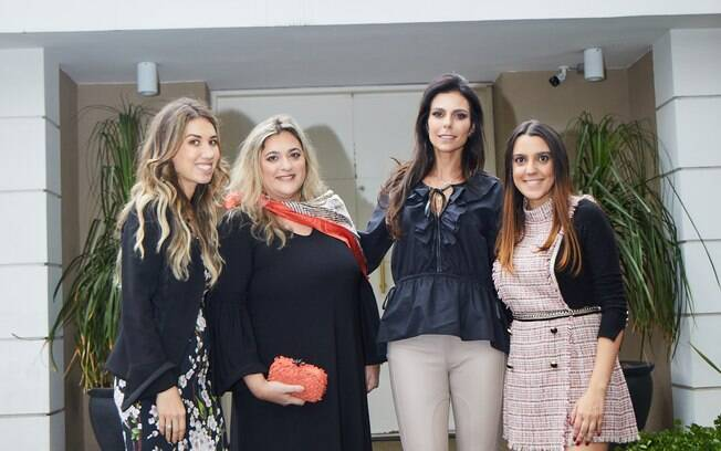 Clarissa Wagner, Bibiana Paranhos, Lica Cinelli e Leilane Sabatini