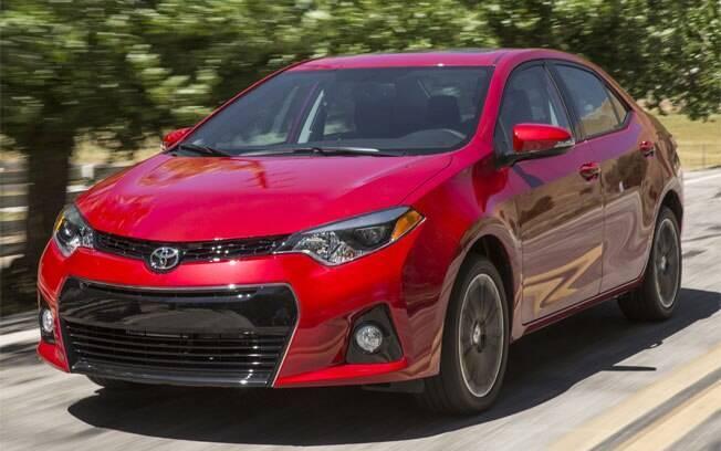 O Toyota Corolla norte-americano é diferente do modelo internacional. Atualmente, é feito nos EUA e no Canadá,  sendo que a produção canadense será transferida para o México em 2019.