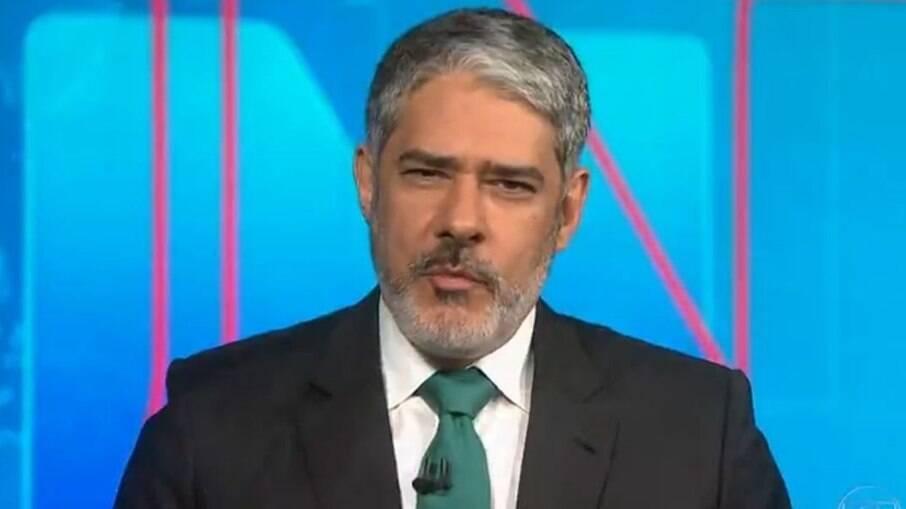 Globo tenta convencer William Bonner a renovar seu contrato em 2025
