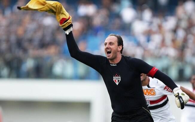 Rogério Ceni: goleiro do São Paulo completa  40 anos