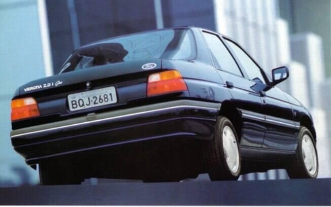 Ford Verona da segunda geração era derivado do modelo Orion, vendido na Europa