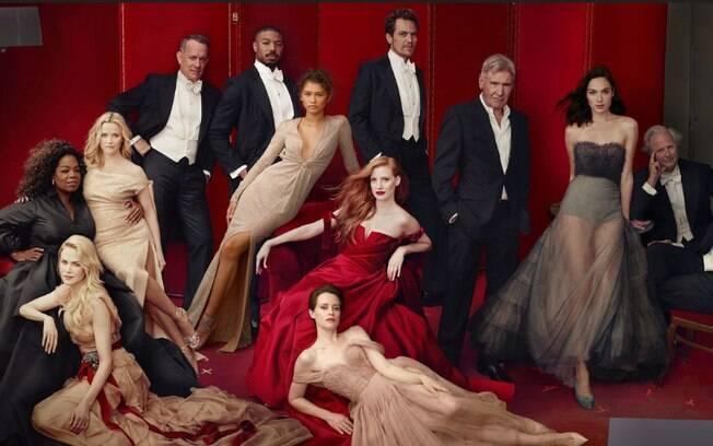 Melhores de Hollywood da Vanity Fair traz erros digitais