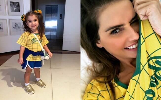Deborah Secco está empolgada com a Copa do Mundo