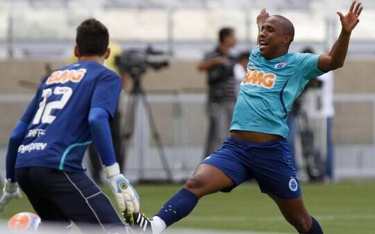 Julio Baptista e Borges são liberados no Cruzeiro, mas atacante ainda é dúvida - Futebol - iG