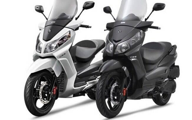 Dafra Citycom 300i:  pensado para as cidades, o scooter promete praticidade, conforto e economia de combustível