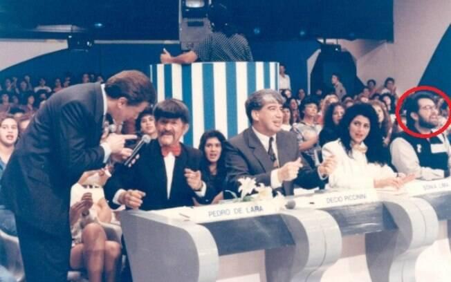 Leão Lobo no 'Show de Calouros', de Silvio Santos, em 1993
