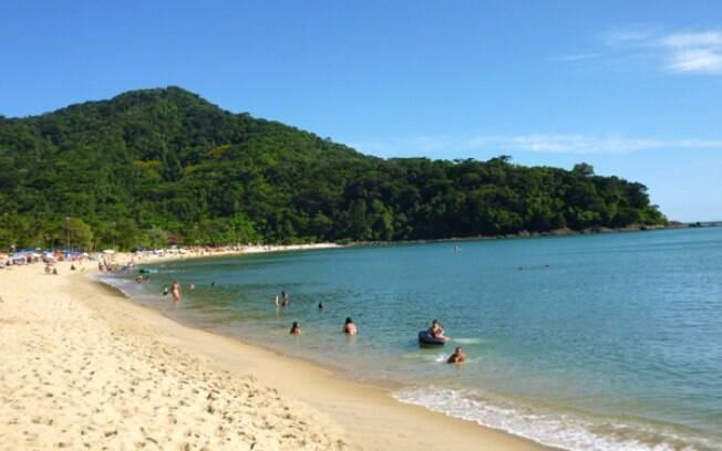 Praia de Boiçucanga, em São Sebastião (SP)
