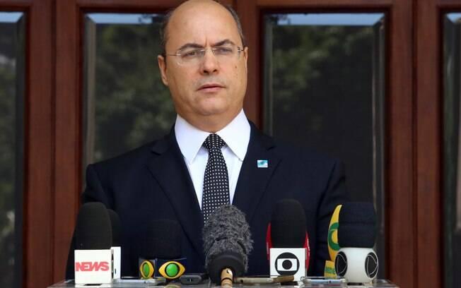 O governador do Rio de Janeiro, Wilson Witzel, sofreu nova denúncia nesta segunda-feira