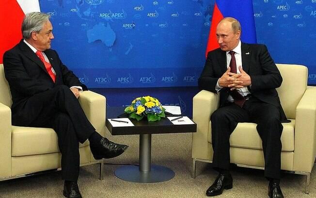 Sebastián Piñera declarou apoio a Bolsonaro em questões econômicas.