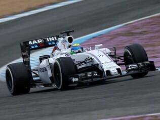 Massa disse que o novo carro já apresentou maior estabilidade na parte traseira