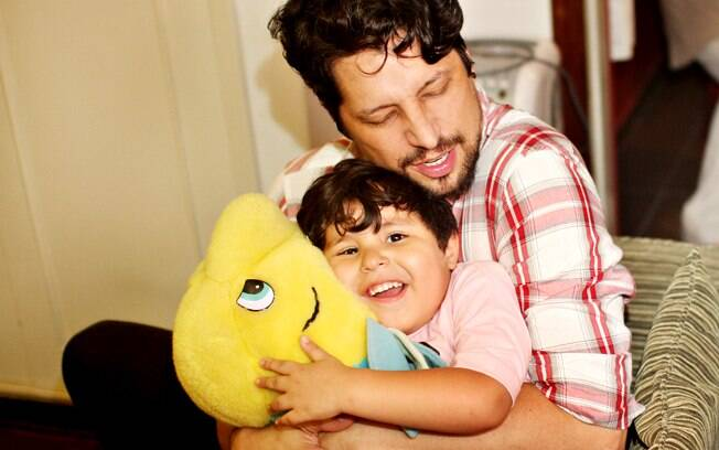 Angelo e Jonathan . Foto: André Giorgi