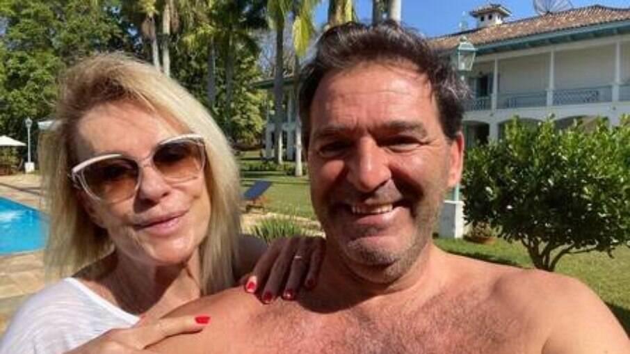 Ana Maria Braga e seu ex-marido