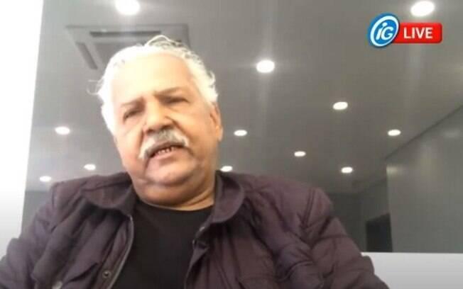 Dr. Hélio foi entrevistado em série de lives do iG.