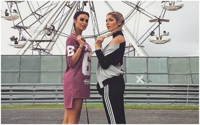 Thaila Ayala e Julia Faria