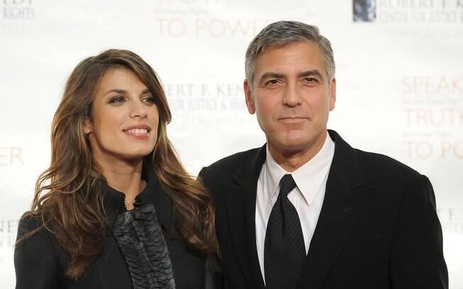 Clooney se separou de Elisabetta Canalis em junho deste ano