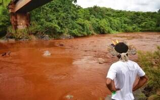 Mais de 300 km do Rio Paraopeba estão contaminados por rejeitos