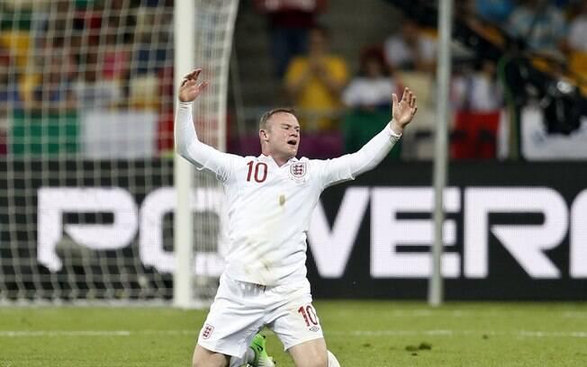 13º) Rooney - jogador do Manchester United