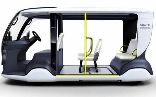 O veículo elétrico é inteiramente configurável para atender também os atletas da competições Paraolímpica
