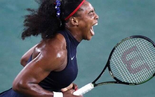 A tenista Serena Williams é um dos maiores ícones do esporte norte-americano